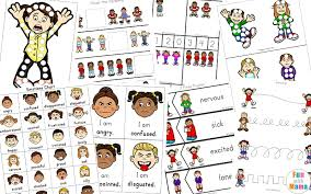 Emotion Chart For Kids Feelings Activities Emotions Worksheets For Kids Fun