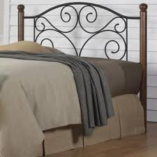 King size wood headboard Footboard Copper Grove Beatton Solid Wood And Black Steel Grillwork Headboard Overstock Buy Size King Wood Headboards Online At Overstockcom Our Best