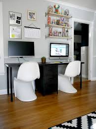 home office with two desks. Eye Catching 2 Person Desks In Inspiring Desk For Home Office Two Computer  Home Office With Two Desks N