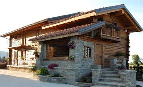 Case Di Montagna Interno : Case prefabbricate in legno piemonte