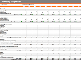 budgeting plans templates 7 free marketing budget templates marketing com au