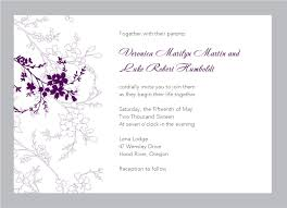 Word Template For Invitation Free Wedding Invitation Templates For Word Marina Gallery