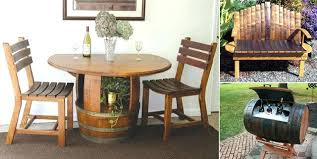 reversible reclaimed wine barrel. Wine Barrel Ideas Awesome Recycled Ring . Reversible Reclaimed