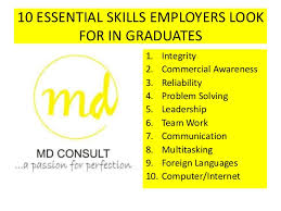 Skills Employers Look For 10 Essential Skills Employers Look For In Graduates Md Nana Sei