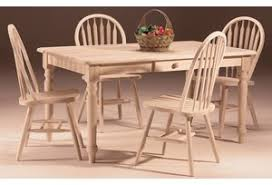 clic solid wood dining table erfly leaf extension table shown with high back windsor chairs