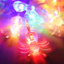 halloween party lighting. Halloween Party Diy 6 1/2\u0027 20 LEDs Spider String Light Lighting