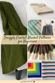 Crochet Blanket Patterns For Beginners