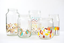 Decorate Jar Candles Painted Holiday Candle Jars 53