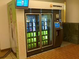 Vending Machine That Buys Phones Impressive Motorola INSTANTMOTO Vending Machines Latest Gadgets Online