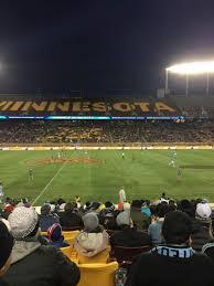 Tcf Bank Stadium Seating Chart Views Tcf Bank Stadium Section 140 Row 15 Seat 16 Minnesota