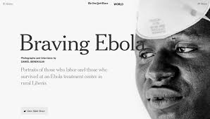 ebola and its foes take sharp focus in powerful new york times  ebola and its foes take sharp focus in powerful new york times photo essay
