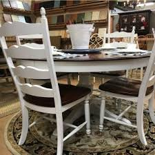 images of rustic furniture. Delighful Rustic Round Birch Table Plus Ladderback Chairs Intended Images Of Rustic Furniture