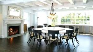 extra large round dining table luxury room decor artistic of tables from and chairs chair slipcovers