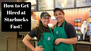 How To Get Hired At Starbucks Get A Job At Starbucks Fast Youtube