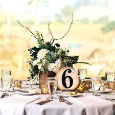 Round Table Settings For Weddings Fall Centerpieces For Round Tables Charix