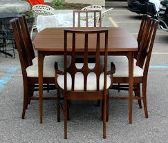 6 Mid Century Modern Broyhill Sculptra Dining Chairs Broyhill Dining