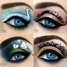step by step pics of crazy eye makeup 9
