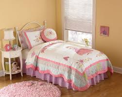 bedroom sets for girls purple. Bedroom. White Steel Bed With Curving Head Board Also Pink Plus Blue Bedding Set Bedroom Sets For Girls Purple