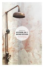 Vt Wonen En Design Beurs 2018 Koperen Douchekop Douchebehang Trend