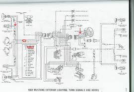 mustang dash wiring diagram 1966 mustang park lights please tell me how they are supposed to click image for larger