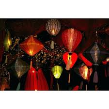 cheerful hanging paper lantern lights i7888155 lanterns add a festive glow to reception tents or the