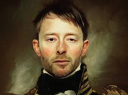 thom yorke ed paint effect oil painting photo