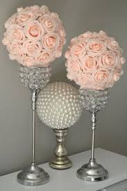 Best 25+ Blush wedding centerpieces ideas on Pinterest | Wedding flower  arrangements, Tall flower centerpieces and Wedding table centrepieces