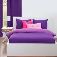 crayola bedcap royal purple bed cap comforter set with shams toss pillows