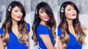 Luxy Hair Style glam waves holiday hairstyle youtube 7052 by wearticles.com