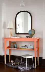 diy painting furniture ideas. Contemporary Ideas DIY Painted Entryway Table Intended Diy Painting Furniture Ideas