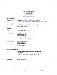 Student Resume For Summer Job Resume For College Student Looking For Summer Job Therpgmovie 3