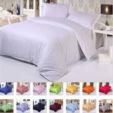luxury five star hotel pure color cotton bedding sets flat fitted sheet sets bed linen satin duvet cover sheet pillowcase duvet covers for men cotton duvet