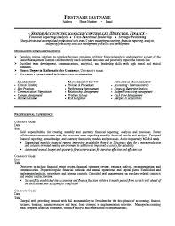 Accounting Manager Sample Resume Senior Accounting Manager Resume ...