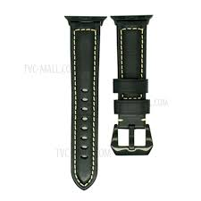 vintage genuine leather watch band for apple watch series 4 44mm series 3 2