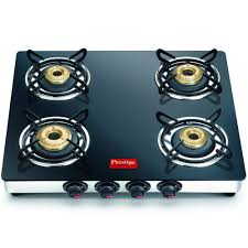 Prestige Kitchen Appliances Prestige Marvel Gtm 04 Ss 4 Burner Glass Top Gas Stove Prs78 Gas