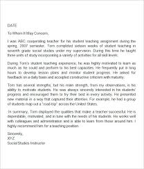 teacher letter of recommendation reference for teachers writing a letter or recommendation