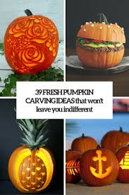 Pumpkin Carving Patterns Impressive 48 Fresh Pumpkin Carving Ideas That Won't Leave You Indifferent