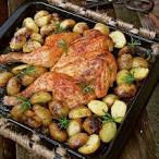 ahjukana kartulitega
