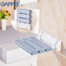 gappo wall mounted shower seat bathroom shower folding seat folding beach bath shower stool toilet shower