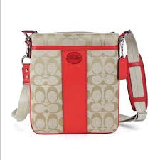 NEW Coach Legacy Signature Swingpack Crossbody Bag