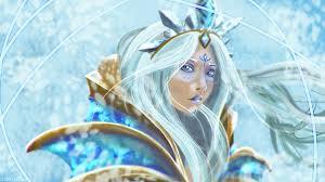2560x1440 crystal maiden dota 2 wallpaper