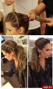 how to do a headband braid on yourself step by step