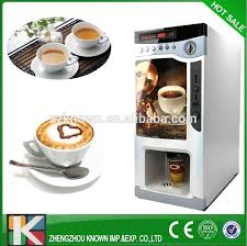 Hot Coffee Vending Machine Enchanting Coffee Vending Machine With Coin Acceptor With 48 Hot Drinks