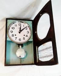 nayak classic wall clock with pendulum by antikcart open