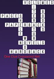 one clue crossword books answer
