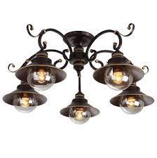 <b>Потолочная люстра Arte Lamp</b> 7 A4577PL-5CK — купить в ...