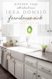 ikea farmhouse sink review an honest review of the ikea farmhouse sink domsjÖ