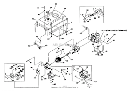 Briggs and stratton power products 0416 0 svt 2400 parts diagram