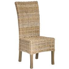 Safavieh Rural Woven Dining Quaker Unfinished Natural Wicker Dining Chairs  (Set of 2) - Free Shipping Today - Overstock.com - 15052205