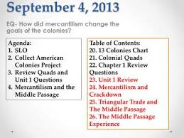 Mercantilism Chart Ppt September 4 2013 Powerpoint Presentation Free